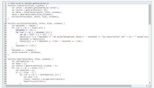 Insertar un script html, js y css para generar cartones de bingo en un tema del foro. Es Posible? - Página 2 Captur10