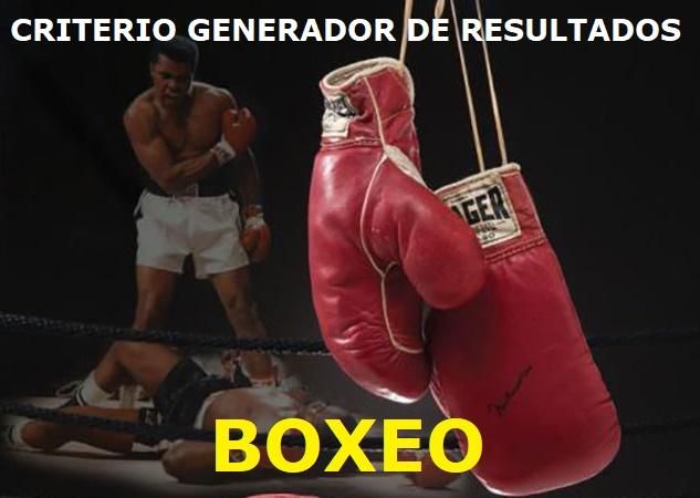 CRITERIO GENERADOR DE RESULTADOS - BOXEO Cgr_bo14