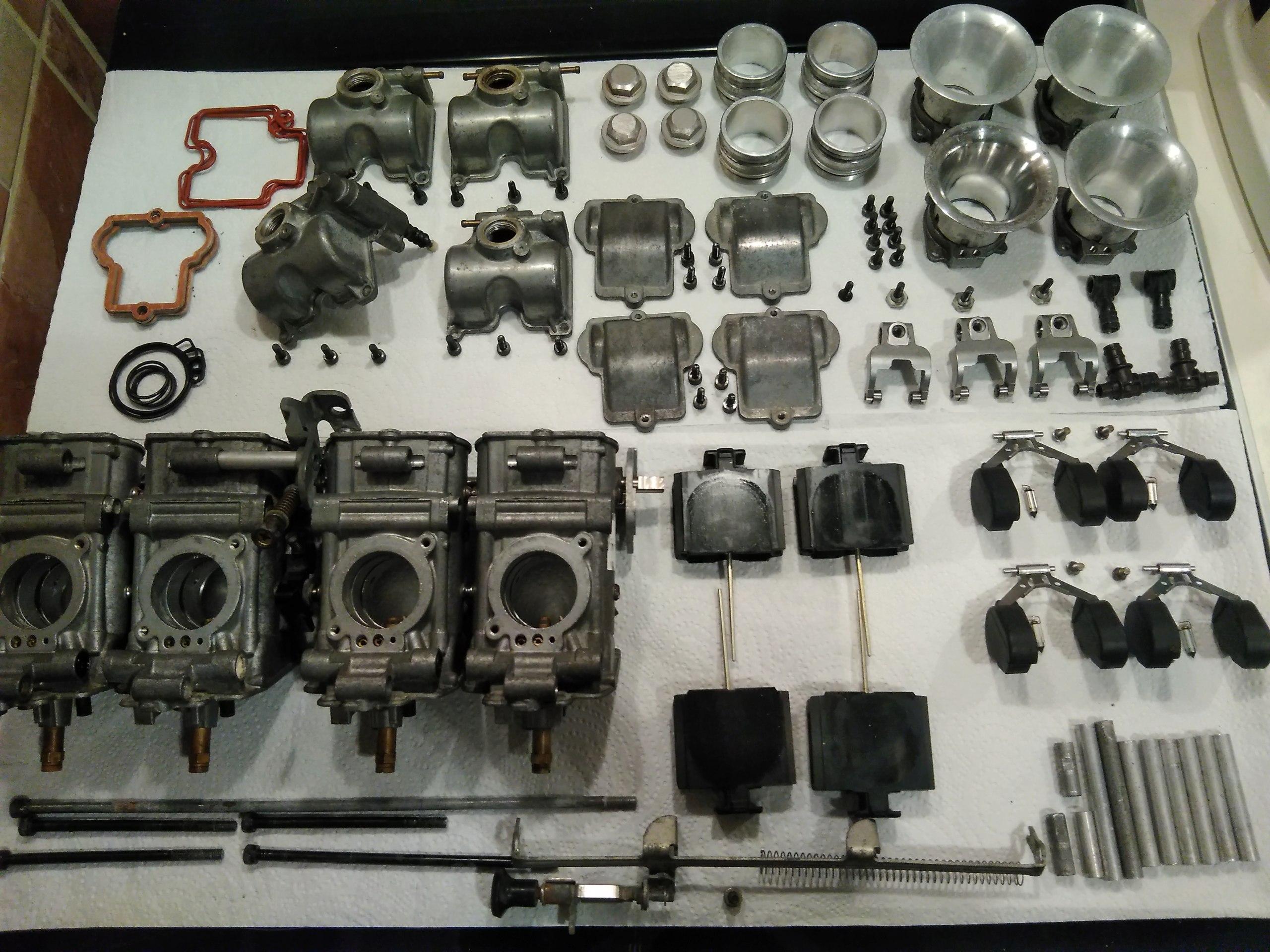 Carburadores Yoshimura TMR-32 para B400 en eBay Img_2036