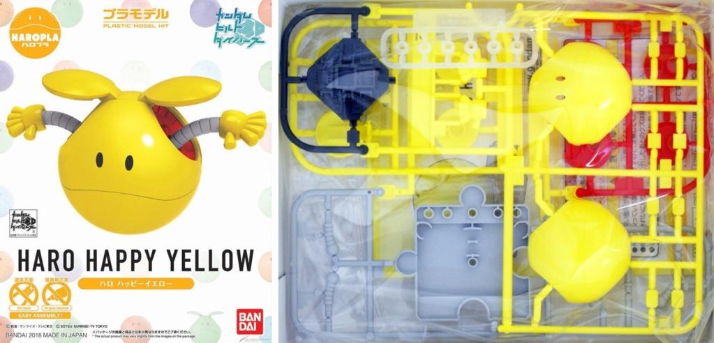 Haro Happy Yellow - Bandai 01c55110