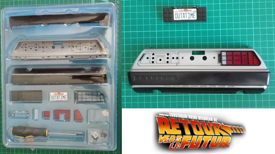 Construisez la Delorean - 1/8 - Eaglemoss Collections 67460410