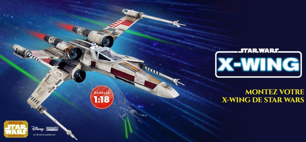 Montez votre X-WING de Star Wars - Altaya - 1/18 70603710