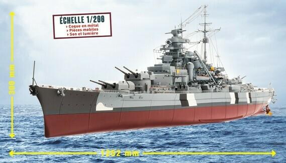 Construire le Bismarck au 1/200 - Hachette Collections Img-8410
