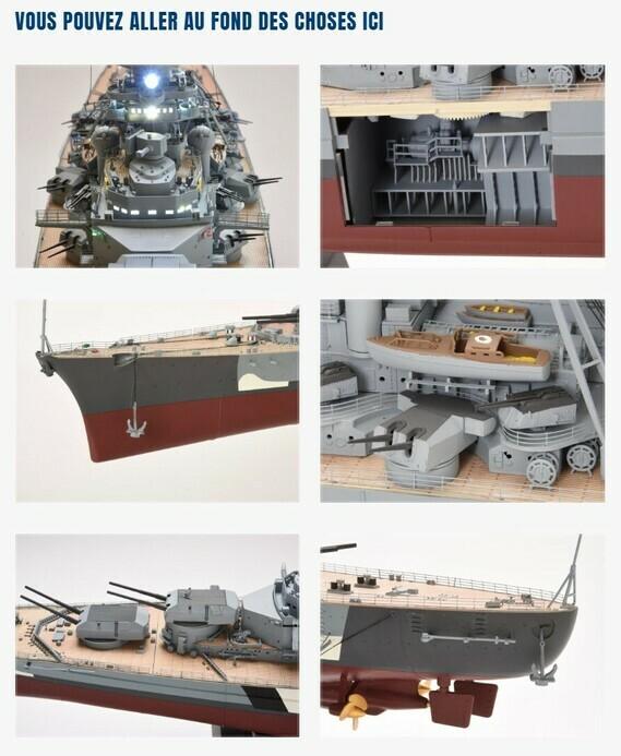 Construire le Bismarck au 1/200 - Hachette Collections Img-8411