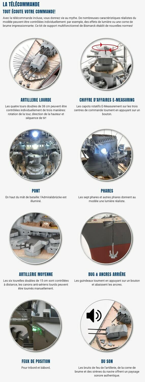 Construire le Bismarck au 1/200 - Hachette Collections Img-8412
