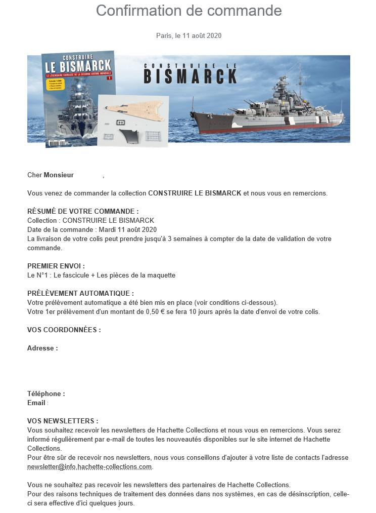 Construire le Bismarck au 1/200 - Hachette Collections Sans_t11