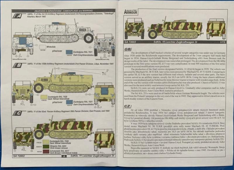 Sd.Kfz 11 Leichter Zugkraftwagen 3t von Special Armour 11anle10