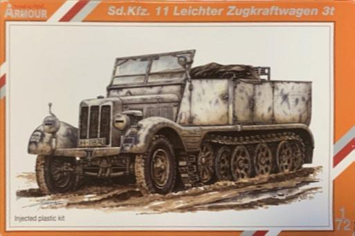 Sd.Kfz 11 Leichter Zugkraftwagen 3t von Special Armour 11er_b10