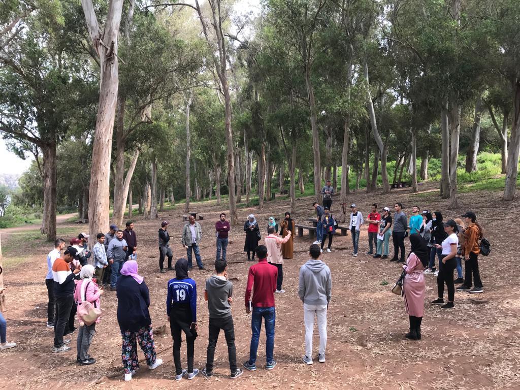 الخرجة الميدانية الدراسية الإستطلاعية الإيكولوجية بمحمية سيدي بوغابة Img-2018