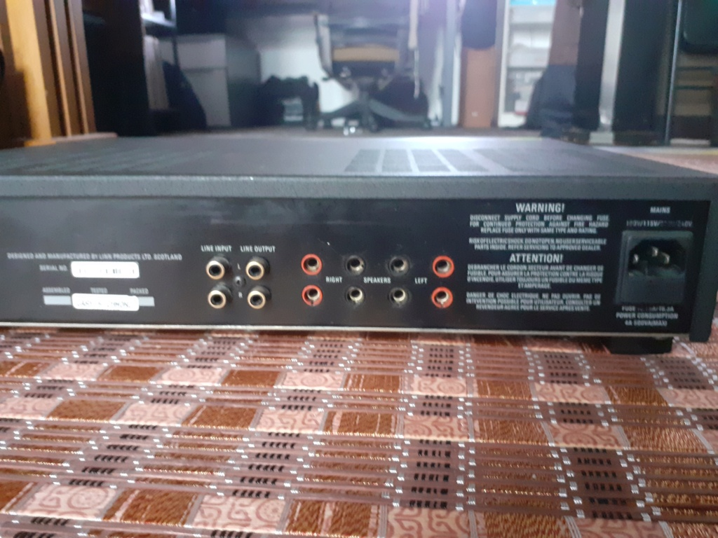Linn Stereo Power Amplifier (Price reduced) 20190816