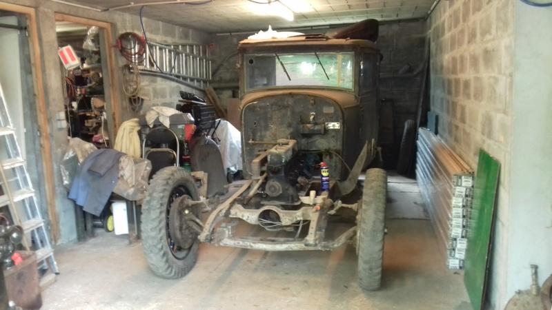 Restauration d'une Talbot M67 20200511