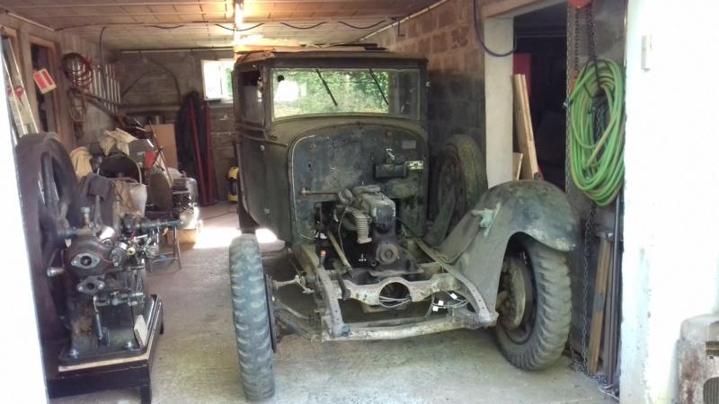Restauration d'une Talbot M67 20200512
