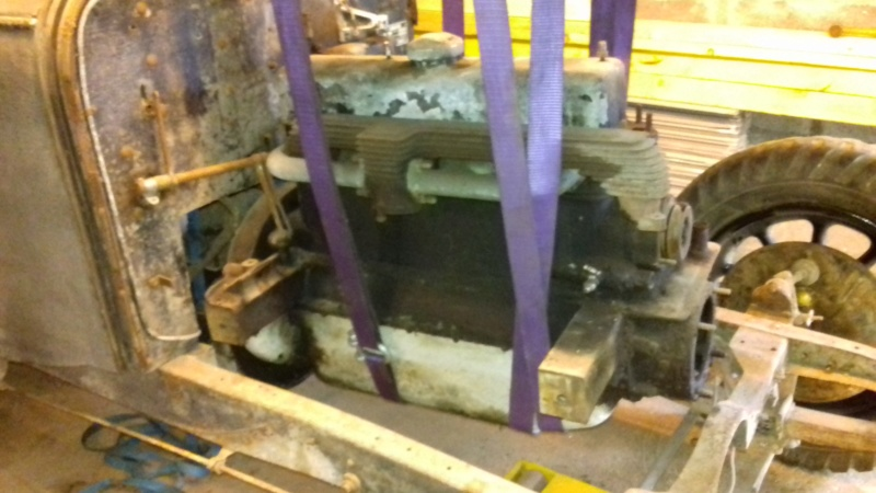 Restauration d'une Talbot M67 20200515