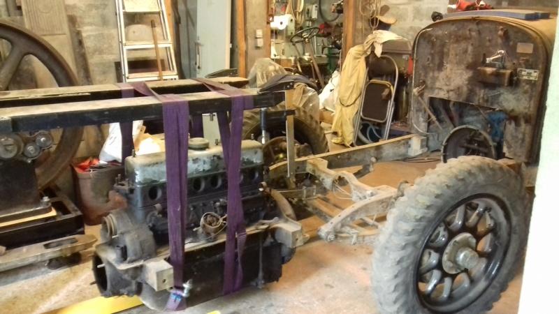 restauration - Restauration d'une Talbot M67 20200516