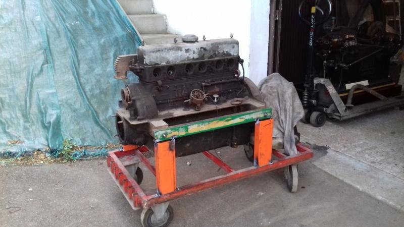 Restauration d'une Talbot M67 20200520