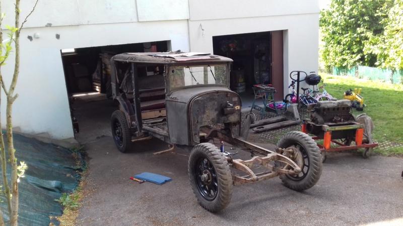 restauration - Restauration d'une Talbot M67 20200522