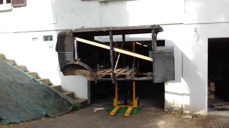 restauration - Restauration d'une Talbot M67 20200524