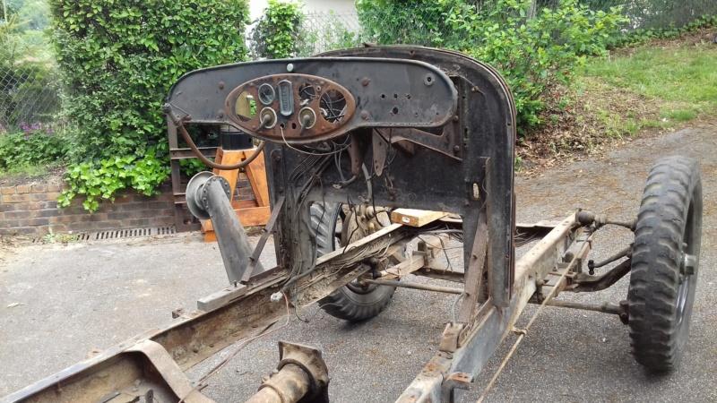 Restauration d'une Talbot M67 20200529