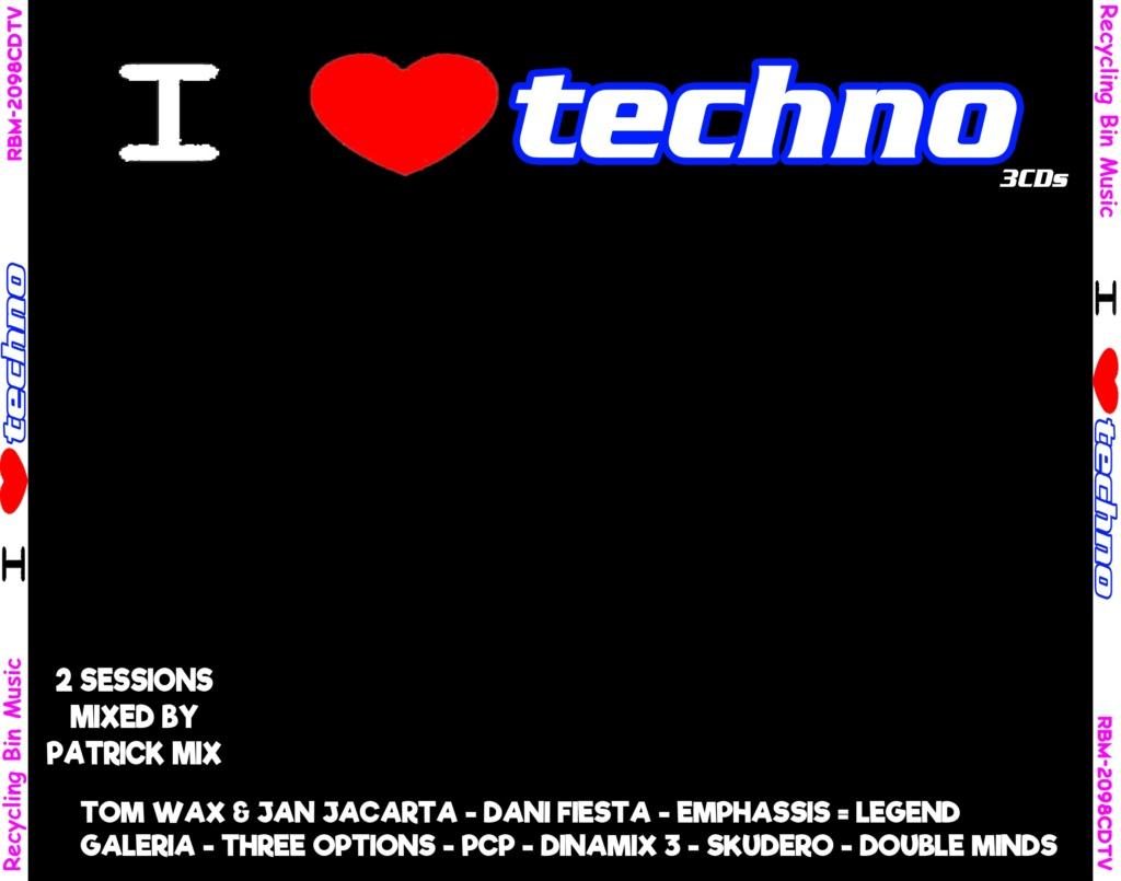 I Love Techno (2019) Recycling Bin Music Bomba Music 320 k Front10