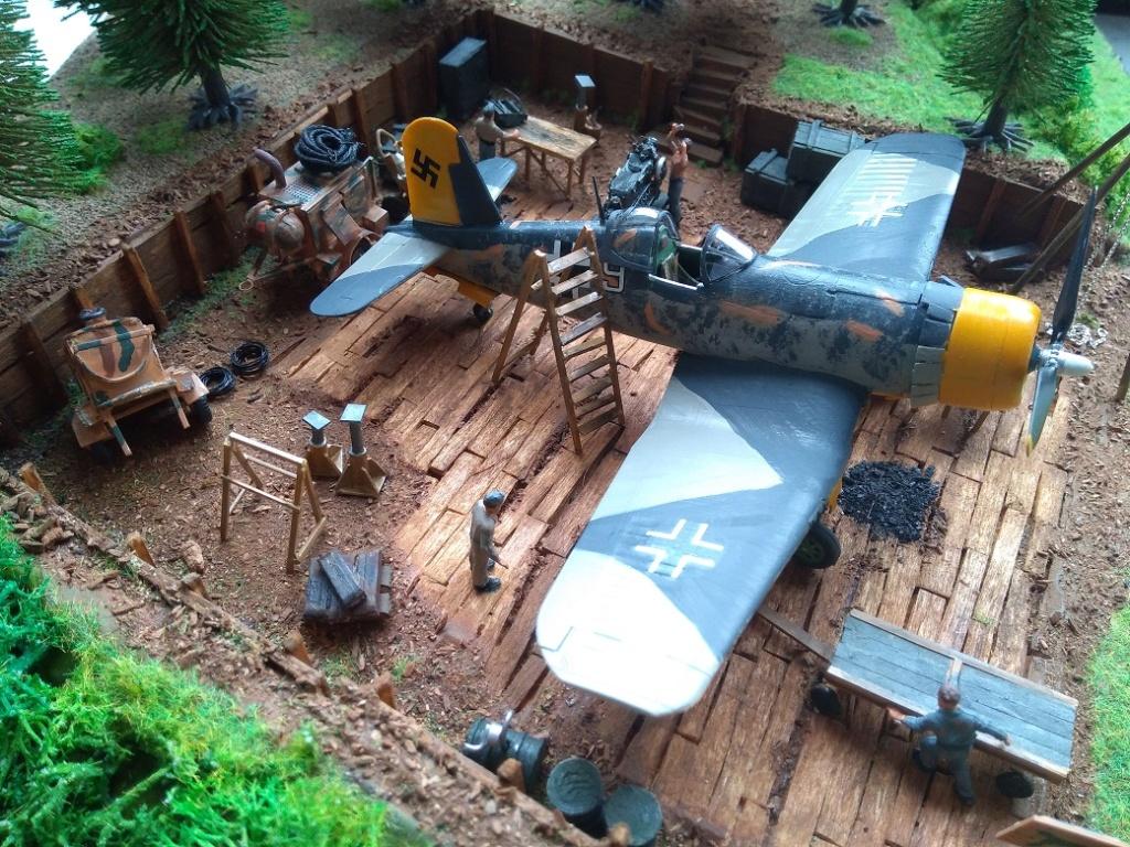 Atelier de campagne Luftwaffe au 1/72 ème Img_1328
