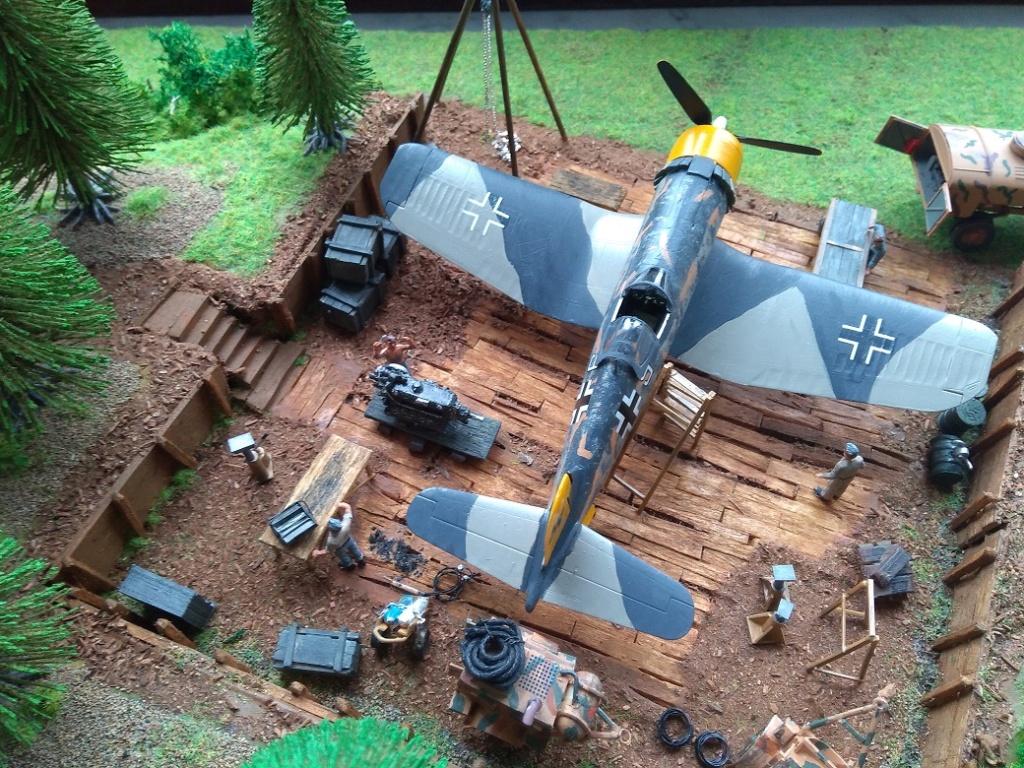 Atelier de campagne Luftwaffe au 1/72 ème Img_1329