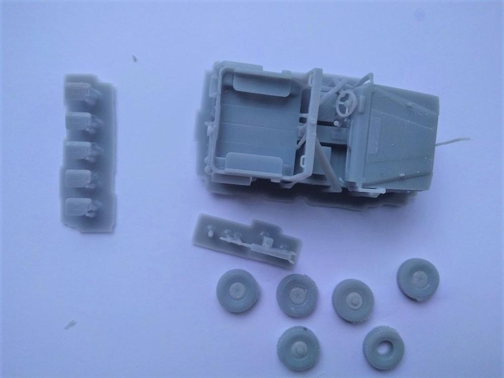 Impression 3D en résine  Peugeot P4 SAS au 1/72ème Img_1686