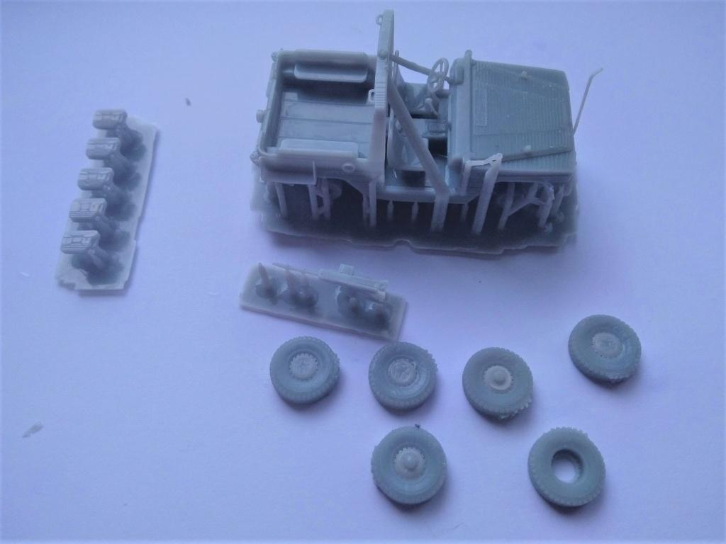 Impression 3D en résine  Peugeot P4 SAS au 1/72ème Img_1688