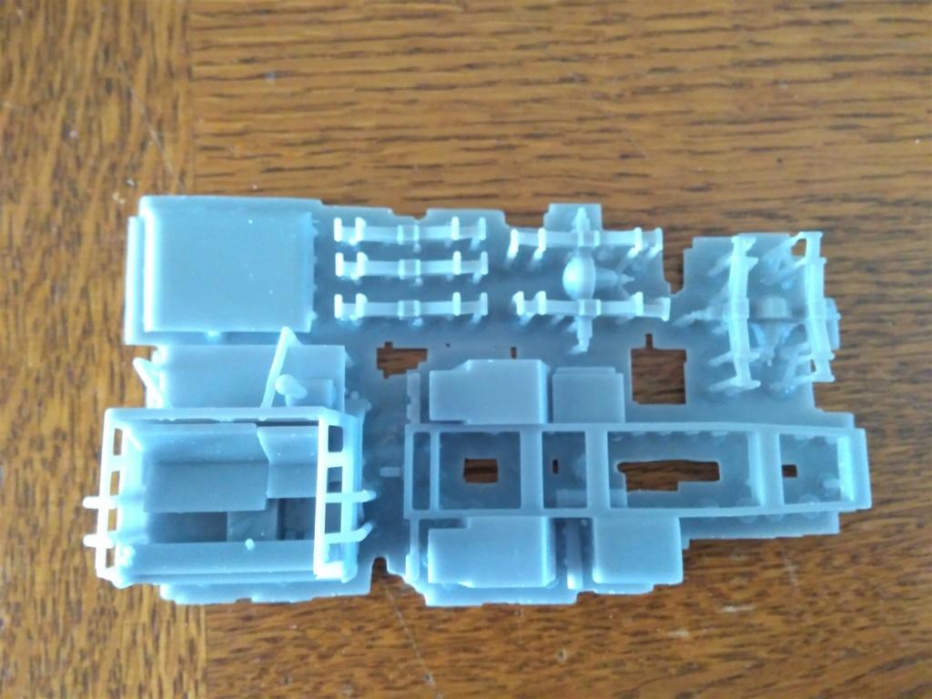 Impression 3D en résine  Peugeot P4 SAS au 1/72ème Img_1695