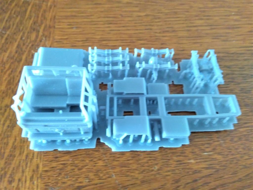 Impression 3D en résine  Peugeot P4 SAS au 1/72ème Img_1696