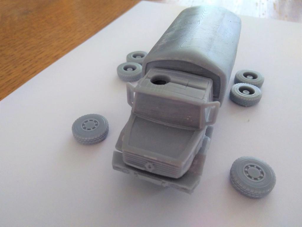 Impression 3D en résine  Peugeot P4 SAS au 1/72ème Img_1698