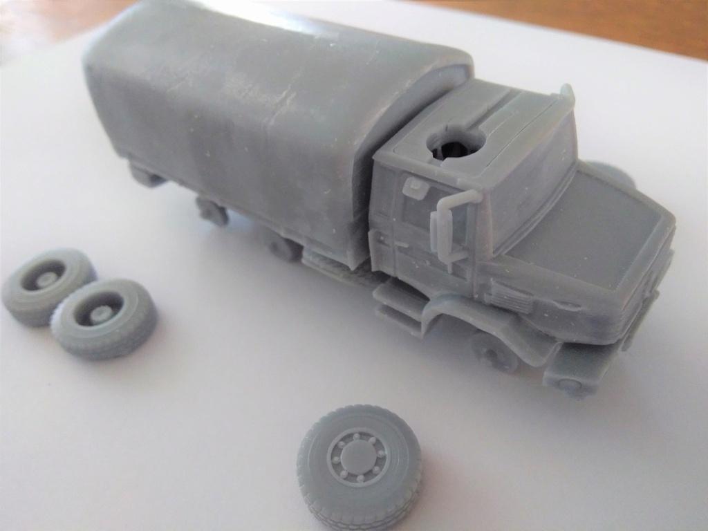 Impression 3D en résine  Peugeot P4 SAS au 1/72ème Img_1699