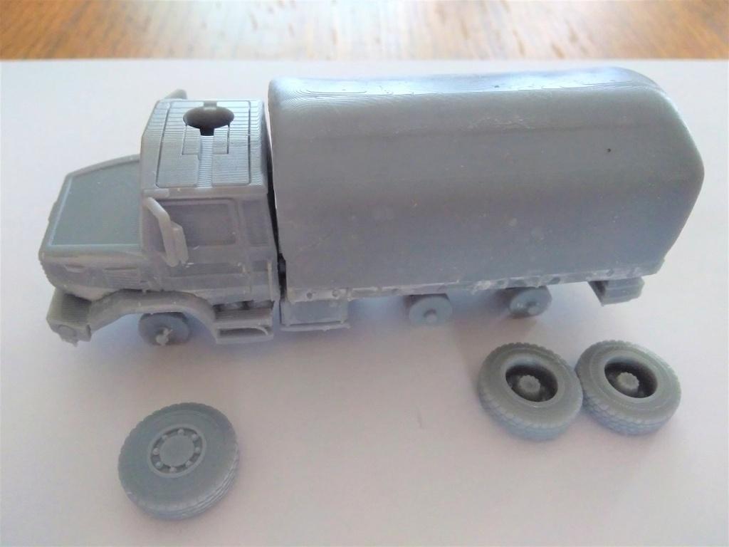 Impression 3D en résine  Peugeot P4 SAS au 1/72ème Img_1700