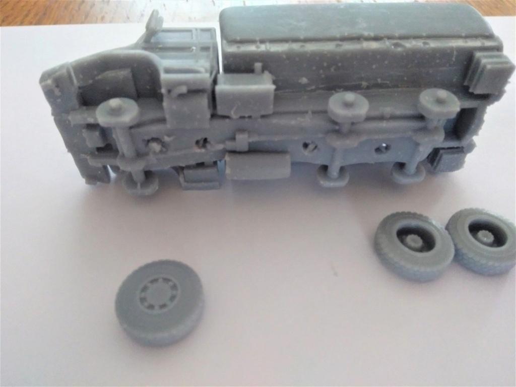 Impression 3D en résine  Peugeot P4 SAS au 1/72ème Img_1701