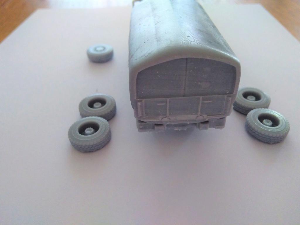 Impression 3D en résine  Peugeot P4 SAS au 1/72ème Img_1705
