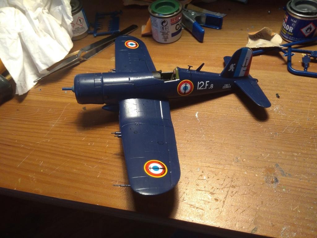 [Italeri] Corsair F4u-7 Aeronavale (FINI) Img_2725