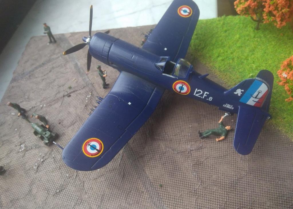 [Italeri] Corsair F4u-7 Aeronavale (FINI) Img_2731