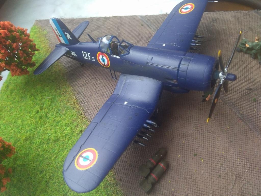 [Italeri] Corsair F4u-7 Aeronavale (FINI) Img_2732