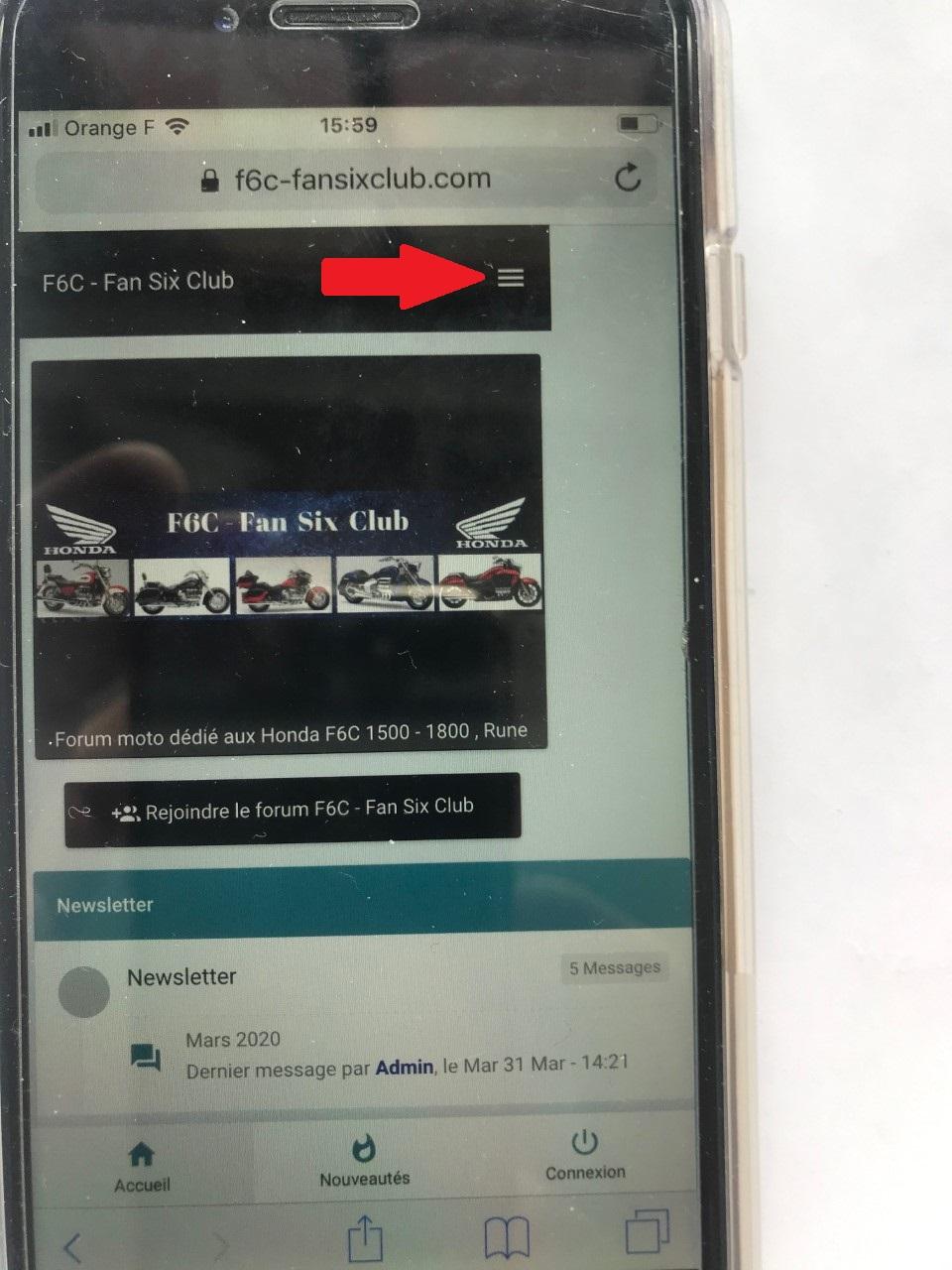 Affichage façon smartphone ou façon Web Select10