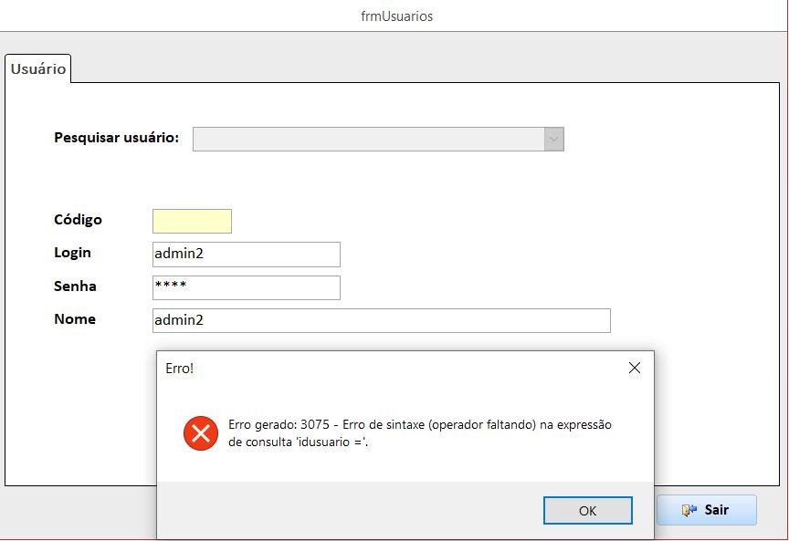 [Resolvido]Como referenciar um formulário e um checkbox no codigo vba Erro10
