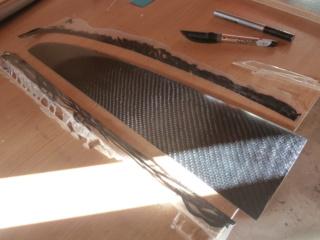 Usinage cnc d'un aileron dans des plaques de G10/fr4. P1050014