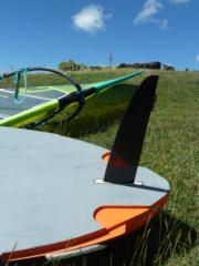 Usinage cnc d'un aileron dans des plaques de G10/fr4. P1050015