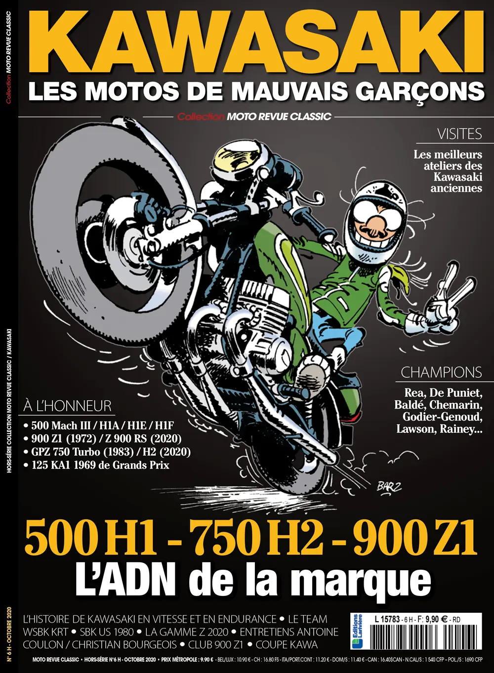Coupes Kawasaki - l'Histoire Moto-r10