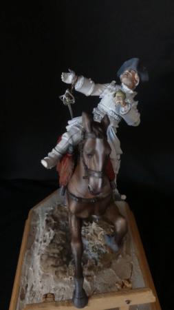 Orléans Cavalerie 1730 - Poste Militaire P1040814