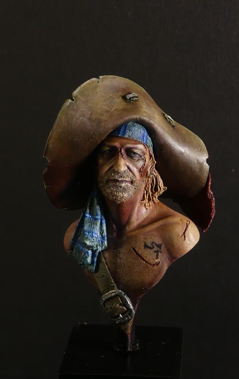 Jack le pirate - Buste Latorre model P1040816