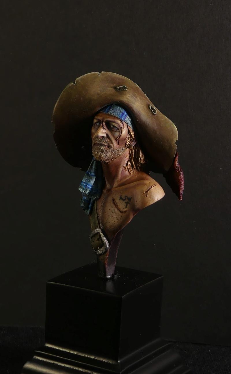 Jack le pirate - Buste Latorre model P1040817