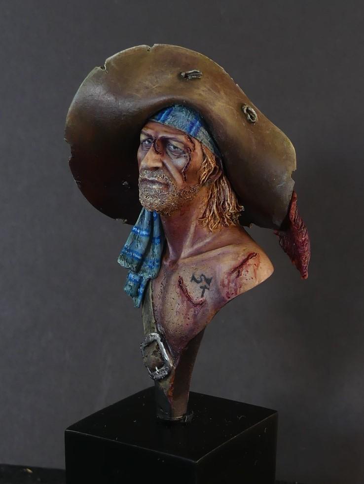 Jack le pirate - Buste Latorre model P1040911