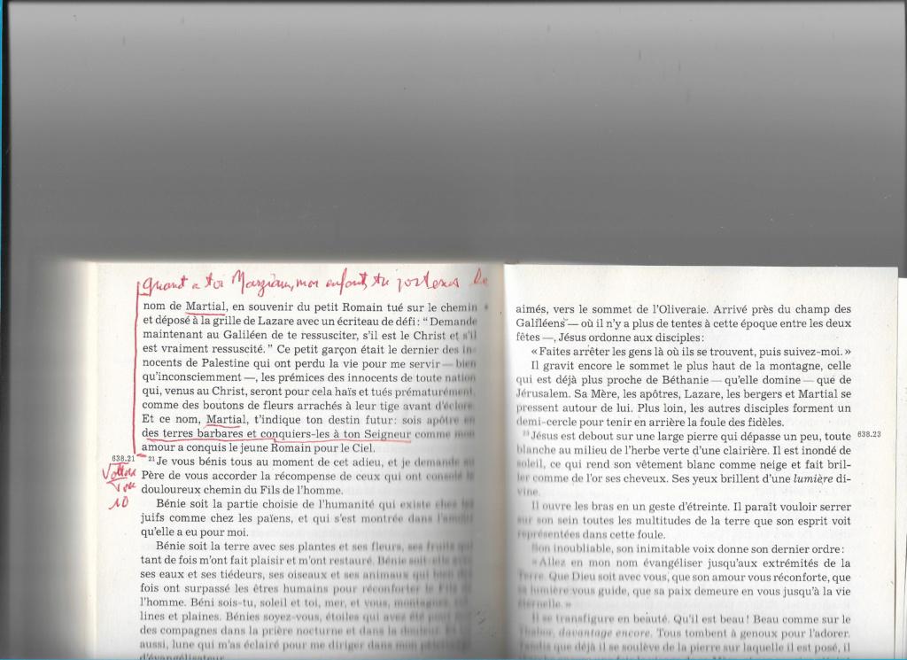 l'annonce par Jésus de Martial  évangélisateur du Limousin Numzo100