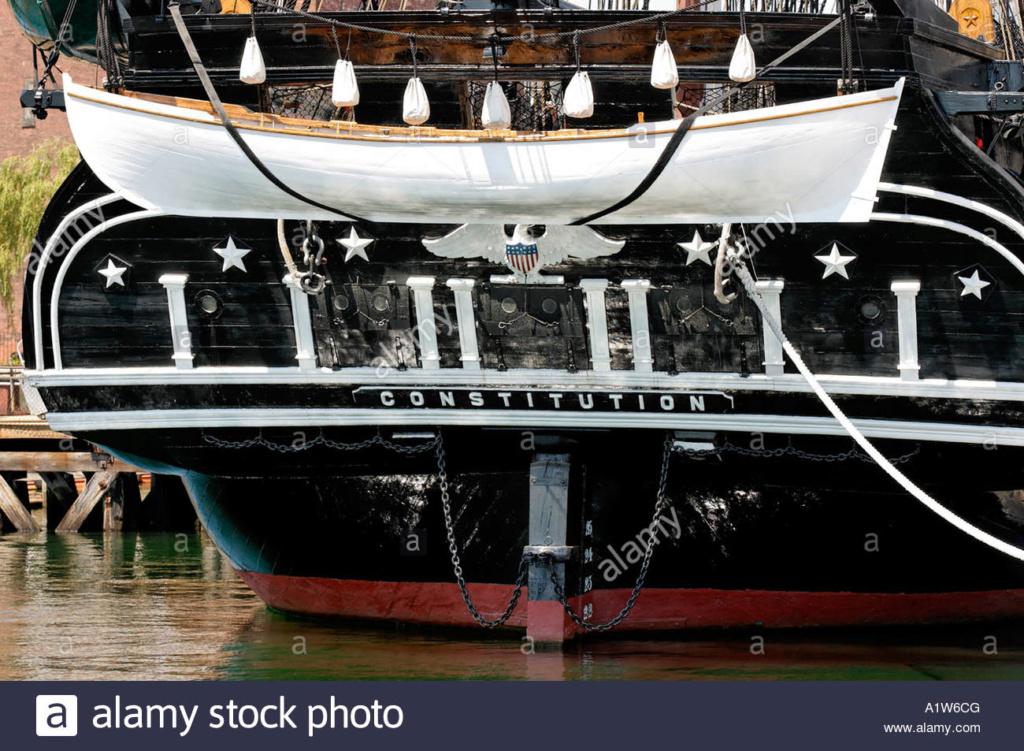USS CONSTITUTION - Catene del timone La-pop10