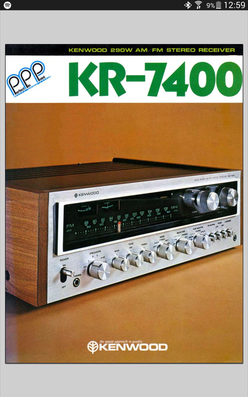Kenwood KR7400 Screen12