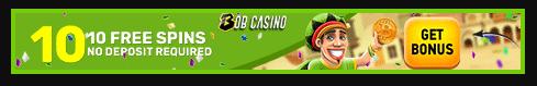 bob casino get 10 free spins